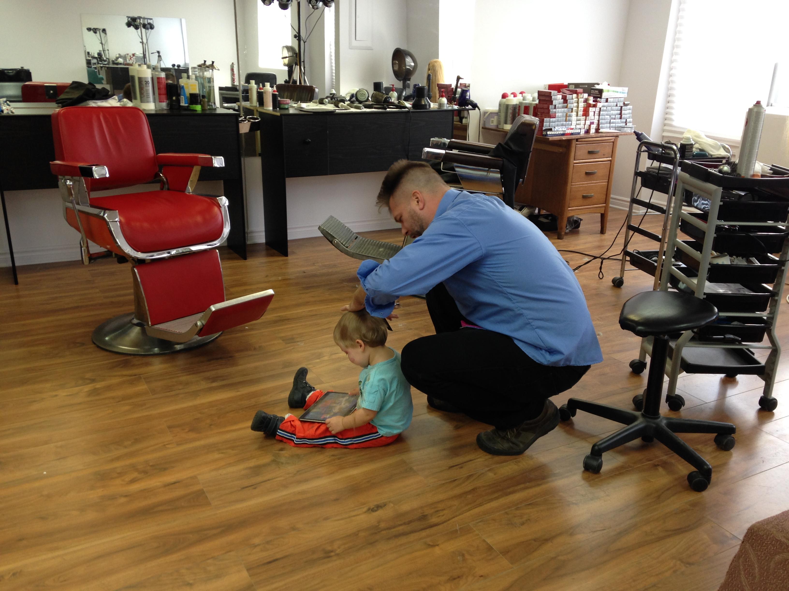 Exemples de coiffure pour les enfants rjo coiffure for Chip salon de coiffure