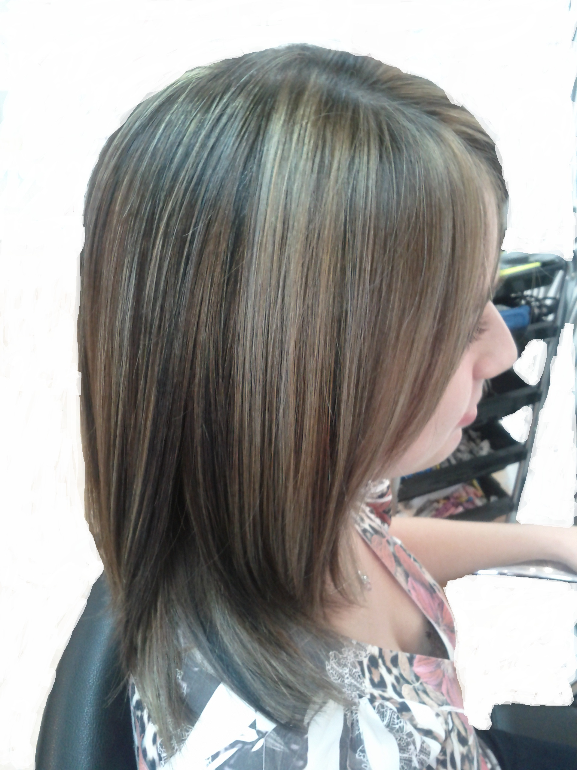 Coiffure blonde meche affordable coiffure meche blonde en ce qui concerne coiffure blonde avec - Coiffure meches blondes et chocolat ...