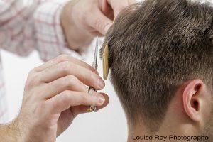 RJO Coiffure - Salon de coiffure Curé Poirier Ouest - Louise Roy Photographe