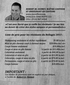 Flyers Prix RJO coiffure2013-résidants du Bellagio