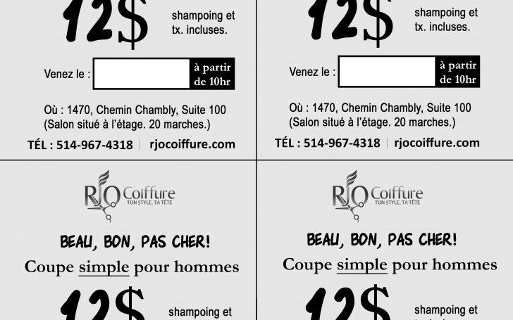 Salon De Coiffure Pas Cher Québec | RJO Coiffure - salon de ...
