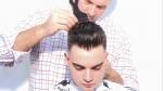 Photo du vidéo: medium skin fade pompadour. Robert Jr. Ouimet maître coiffeur