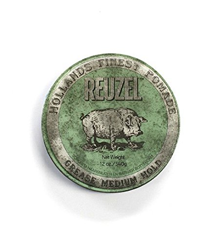 Reuzel grease medium hold pomade 12oz