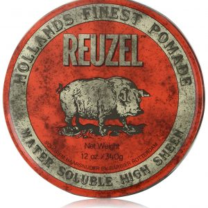 Reuzel Rouge Water Soluble Pomade High Sheen 12oz/340g.