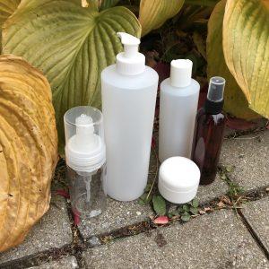 5. Bouteilles vides plastique