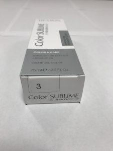 Color SUBLIME BY REVLONISSIMO 3 chataîn foncé 75ml