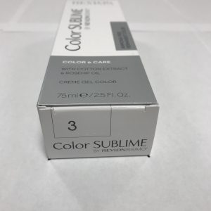 Color SUBLIME BY REVLONISSIMO 3 chataîn foncé 75ml