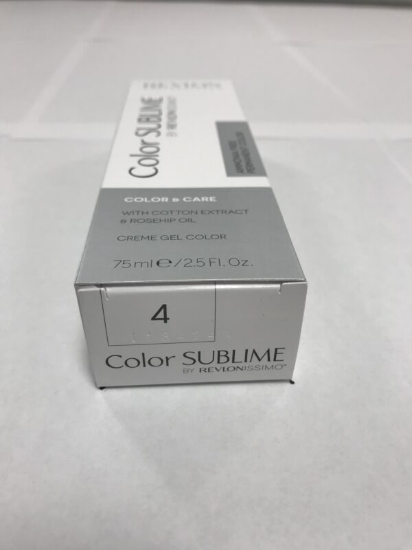 Color SUBLIME BY REVLONISSIMO 4 chataîn moyen 75ml