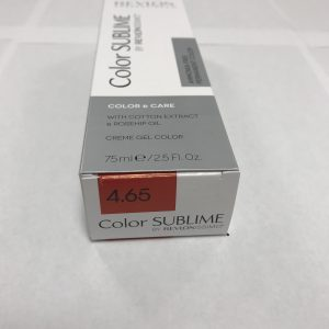 Color SUBLIME BY REVLONISSIMO 4.65 chataîn rouge acajou intense 75ml