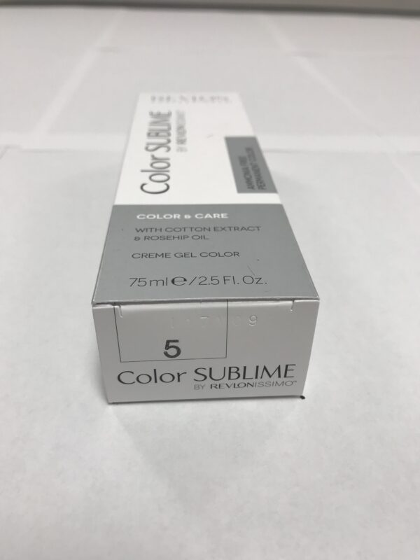 Color SUBLIME BY REVLONISSIMO 5 chataîn clair 75ml