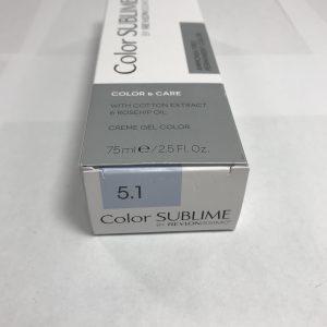 Color SUBLIME BY REVLONISSIMO 5.1 chataîn clair cendré 75ml