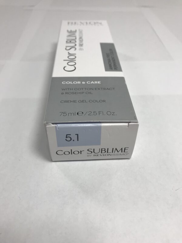 Color SUBLIME BY REVLONISSIMO 5.1 chataîn clair cendré 75ml