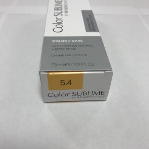 Color SUBLIME BY REVLONISSIMO 5.4 chataîn clair cuivré 75ml