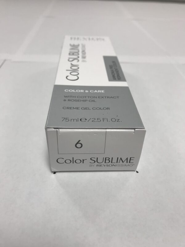 Color SUBLIME BY REVLONISSIMO 6 blond foncé 75ml