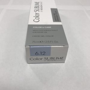 Color SUBLIME BY REVLONISSIMO 6.12 blond foncé cendré irisé 75ml
