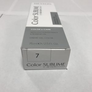 Color SUBLIME BY REVLONISSIMO 7 blond moyen 75ml