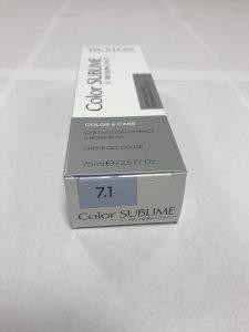 Color SUBLIME BY REVLONISSIMO 7.1 blond moyen cendré 75ml