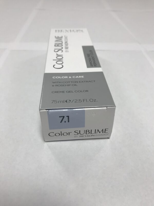 Color SUBLIME BY REVLONISSIMO 7.1 blond moyen cendré 75ml