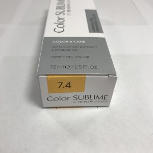 Color SUBLIME BY REVLONISSIMO 7.4 blond moyen cuivré 75ml