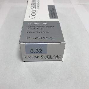 Color SUBLIME BY REVLONISSIMO 8.32 blond clair doré nacré 75ml