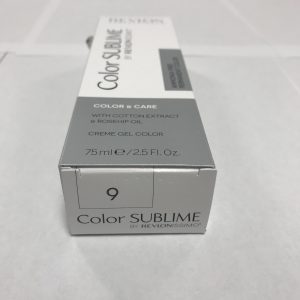 Color SUBLIME BY REVLONISSIMO 9 blond très clair 75ml