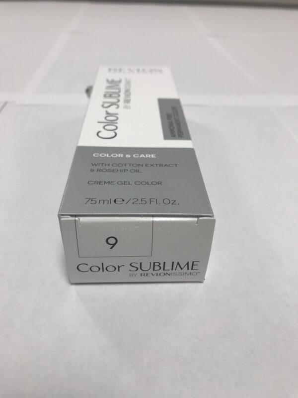 Color SUBLIME BY REVLONISSIMO 9 blond très clair 75ml