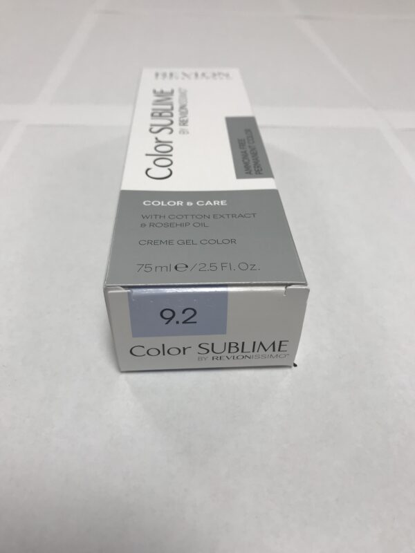 Color SUBLIME BY REVLONISSIMO 9.2 blond très clair 75ml
