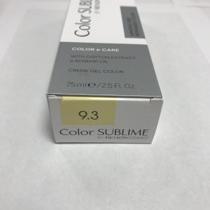 Color SUBLIME BY REVLONISSIMO 9.3 blond très clair doré 75ml
