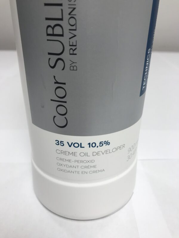Oxydant creme Oil Developer Color Sublime By Revlonissimo 35 VOL 10,5% 900ml Montréal Rive-Sud de Montréal