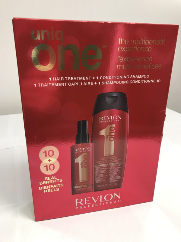 Duo Revlon professionnal Uniq One Shampooing et Traitement de cheveux